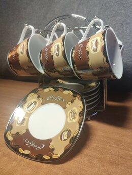 Сервизы и наборы - Чайный / кофейный сервиз на 6 персон, 0