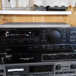 Музыкальные центры,  магнитофоны, магнитолы - Panasonic  DAT дека SV-DA10-K, 0