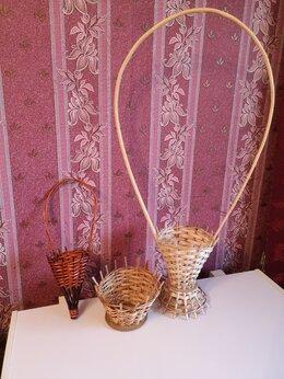 Горшки, подставки для цветов - Кашпо,корзинки 3 шт., 0