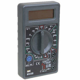 Измерительные инструменты и приборы - Мультиметр цифровой Universal M832 ИЭК TMD-2S-832, 0