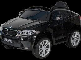 Электромобили - Детский электромобиль (2020) BMW X6M JJ29 (чёрный), 0