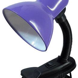 Настольные лампы и светильники - Лампа Е27 60W на прищепке , 0