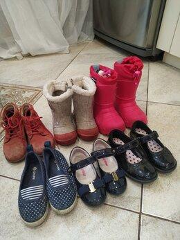 Ботинки - Обувь на девочку б/у, 0