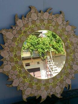 Аксессуары - Зеркала из можжевельника и других пород  дерева, 0