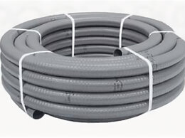 Водопроводные трубы и фитинги - Гибкая труба ПВХ клеевая , 0