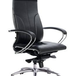 Компьютерные кресла - Кресло руководителя Метта Samurai Lux, черный, 0