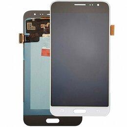 Дисплеи и тачскрины - Дисплеи для Samsung J3, SM-J320F, белый, золото,…, 0