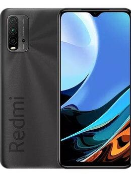 Мобильные телефоны - Xiaomi Redmi 9T, NFC, 4/64 GB, 6000 mAh, Гарантия, 0