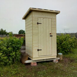 Готовые строения - Туалет дачный, хозблок, 0