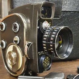 Видеокамеры - Кинокамера кварц 2х85 ссср , 0