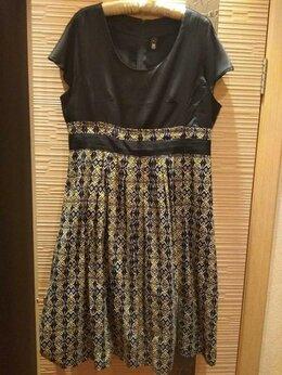 Платья - Платье, юбка в широкую складку, 0