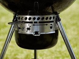 Грили, мангалы, коптильни - Гриль Weber Master-Touch GBS E-5750, 57см черный, 0