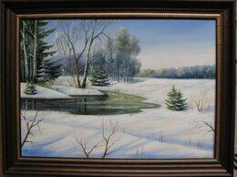 Картины, постеры, гобелены, панно - Первый лед. 50х70см, 0