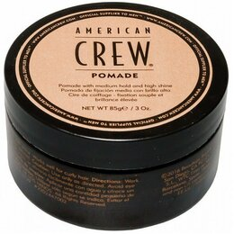 Для укладки - American Crew Pomade, средняя фиксация, 85 г, 0