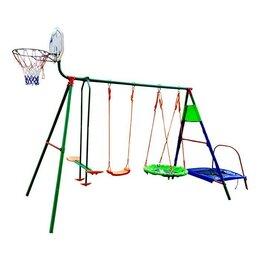 Гимнастические снаряды и спортивные комплексы - Детский уличный комплекс DFC MTB-01, 0