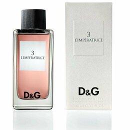 Парфюмерия - Dolce&Gabbana 3 L'imperatrice edt 100 ml, 0