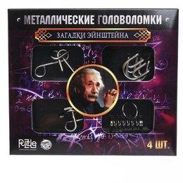 Головоломки - Головоломка металлическая «Загадки Эйнштейна», 0