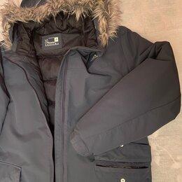 Пуховики - Фирменная мужская зимняя куртка adidas., 0