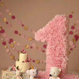 Украшения для организации праздников - Аренда Цифра 1 день рождения , 0