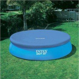 Надувная мебель - Новый круглый натяжной тент для бассейна intex , 0