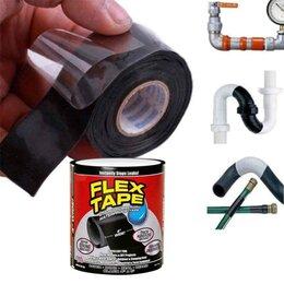 Строительство - Сверхсильная клейкая лента FLEX TAPE 10см черная , 0