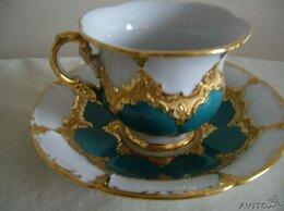 Кружки, блюдца и пары - Чайная пара Мейссен  антикварная, 0