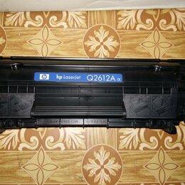 Картриджи - Картридж HP Laser Jet Q2612A б/у, 0