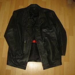 Одежда - Бушлат- куртка Blue Steel. Кожа. , 0