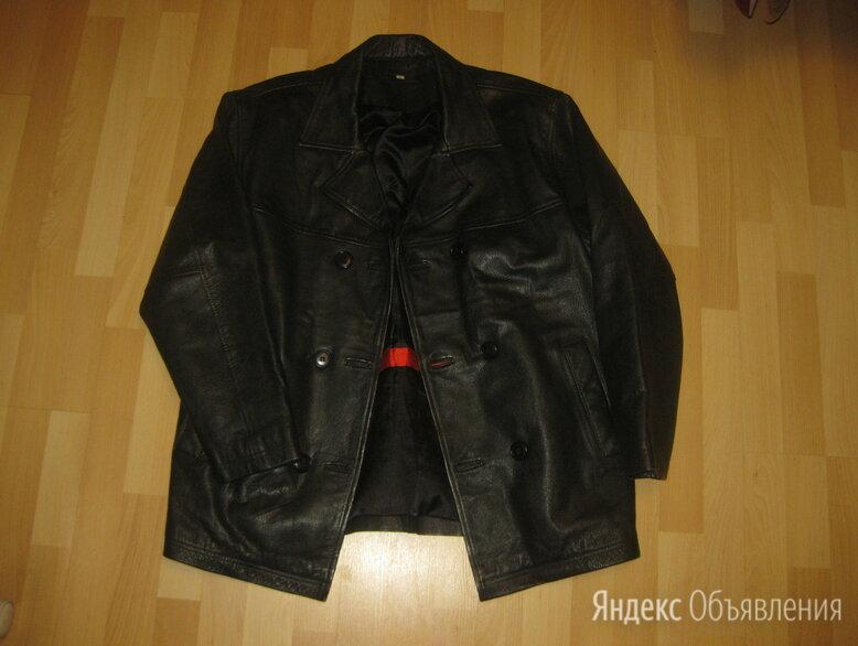 Бушлат- куртка Blue Steel. Кожа.  по цене 18900₽ - Одежда, фото 0