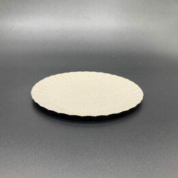 Одноразовая посуда - Тарелка 175 мм эконом картон цена указана за…, 0