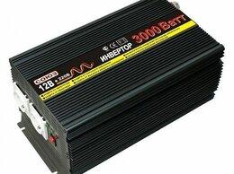 Блоки питания - ИНВЕРТОР (преобразователь DC/AC) СОЮЗ PI-3000 12В, 0