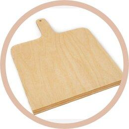 Выпечка и запекание - Лопатка пекарская деревянная для хлеба, 0