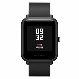 Умные часы и браслеты - Смарт часы Xiaomi Huami Amazfit Bip Onyx Black, 0