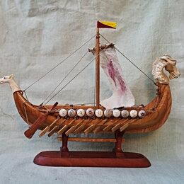 """Статуэтки и фигурки - """"Драккар"""", корабль викингов, 0"""