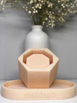Изготовление мыла, свечей, косметики - Силиконовая форма , 0