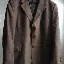 Пиджаки - Пиджак шерстяной 62 размера Otto Berg, 0