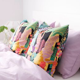Декоративные подушки - Новые чехлы на подушку Нэбфли Икеа, 0