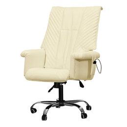 Массажные кресла - Офисное массажное кресло EGO President EG1005 КРЕМ (Арпатек), 0