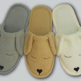 "Домашняя обувь - Детские тапочки флис ""Собачки"", 0"
