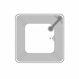 Промышленные компьютеры - HF rfid-метка, ISO 15693 50х50, 0