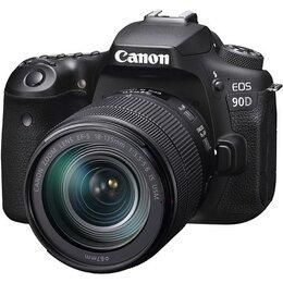 Фотоаппараты - Зеркальный фотоаппарат Canon EOS 90D Kit 18-135…, 0