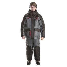 """Одежда и обувь - Костюм зимний """"Норд Фиш"""" special -45 NEW черный-графитовый серый ХСН 9892, 0"""