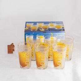 Бокалы и стаканы - Стаканы Luminarc Geneve Lemon 300 мл, 0