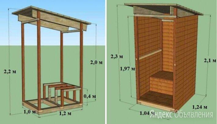 туалеты для рабочих на стройку по цене 3000₽ - Бочки, фото 0