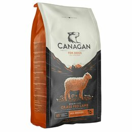 Корма  - Корм Canagan for dogs GF Grass Fed Lamb для собак , 0