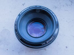 Объективы - Canon EF 50mm 1.8 II, 0