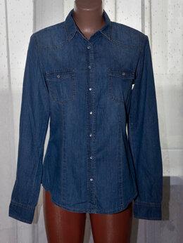Блузки и кофточки -     Джинсовая рубашка рр 44+-, 0