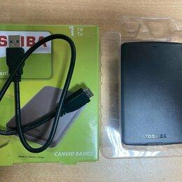 Внешние жесткие диски и SSD - Внешний HDD 2,5 Toshiba 1Tb (USB 3.0) новый, 0