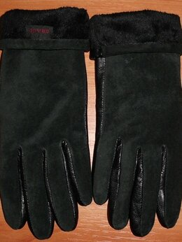 Перчатки и варежки - Фирменные женские перчатки натуральная кожа…, 0