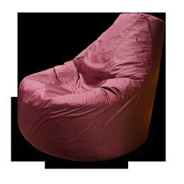 Кресла-мешки - Кресло мешок банан оксфорд красное, 0